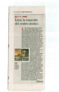 Kimi Sciessere, un nostro cucciolo shiba inu come mascotte della città di Roma